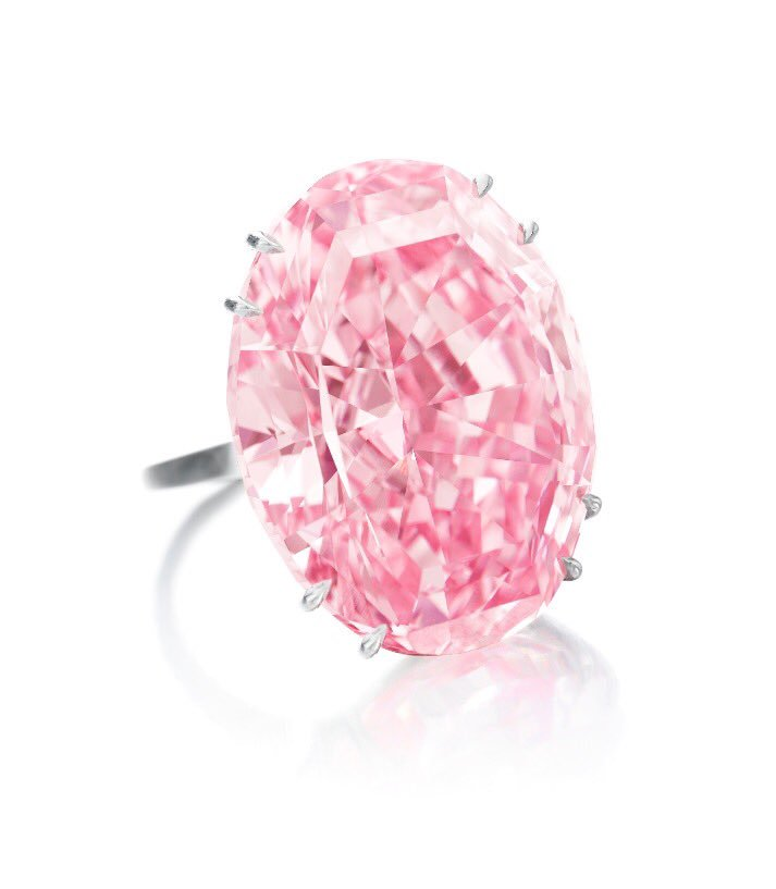 Pink Star Diamond Breaks Auction Record at $71.2M ($63M Hammer Price) | The  Diamond Loupe