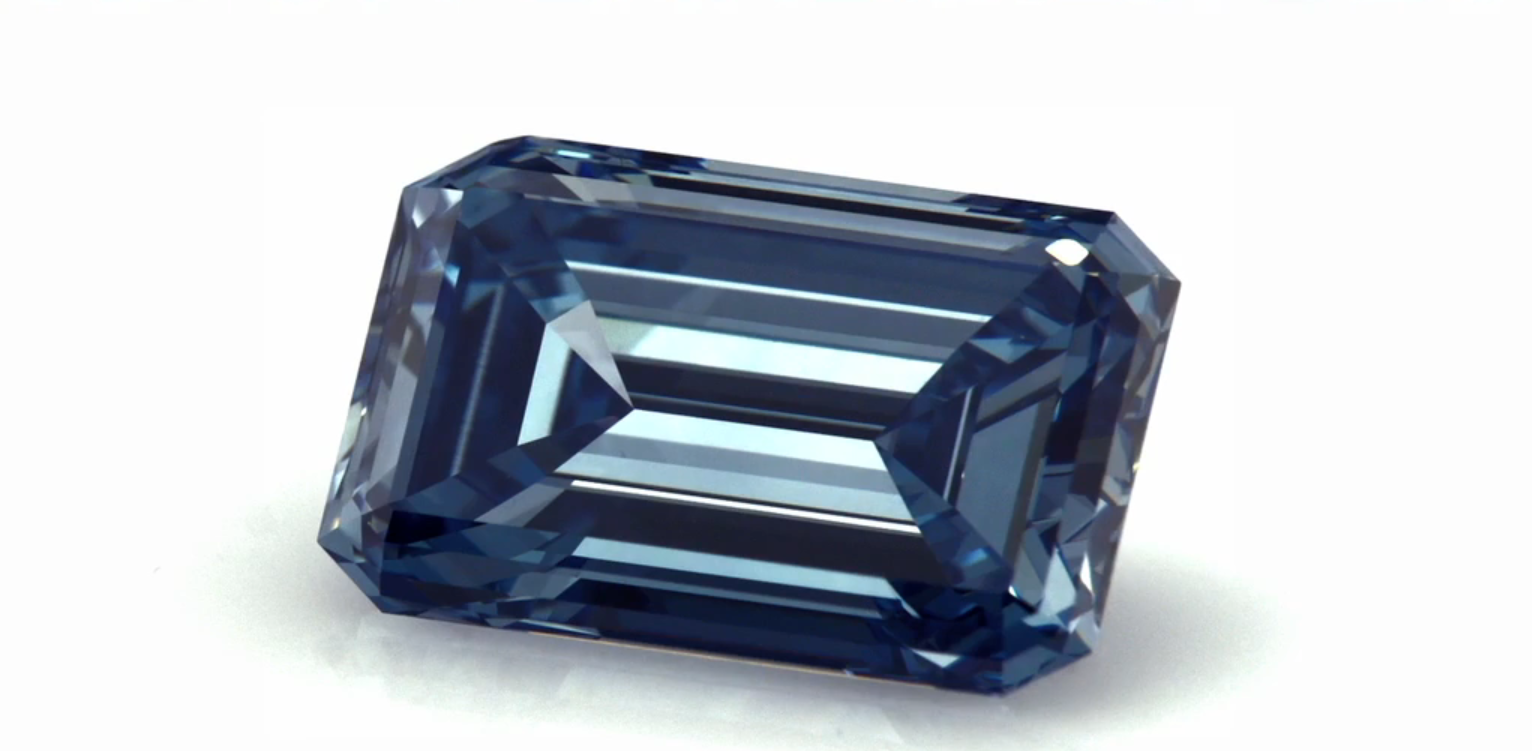 Resultado de imagen para Largest Blue HPHT Synthetic Diamond
