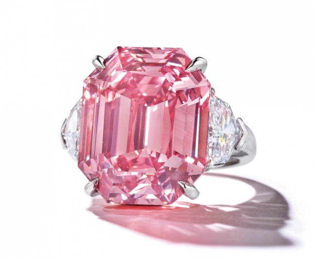 $50 Million for 19-ct Pink Legacy Diamond a New Record