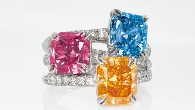 Trio Colored Diamonds Lead Christie's Auction at $8.4M