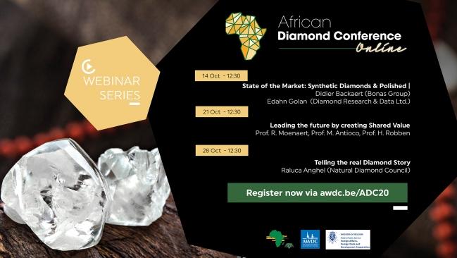 Antwerp & ADPA host African Diamond Conference Webinars