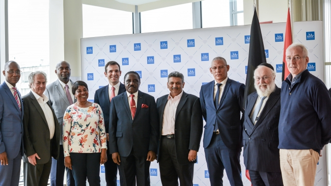Angola Diamond Delegation Visits Antwerp for KP Consultation