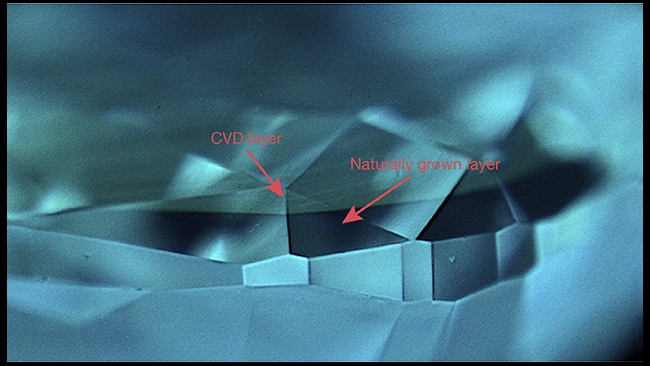 GIA Identifies Second Natural Diamond with CVD Layer