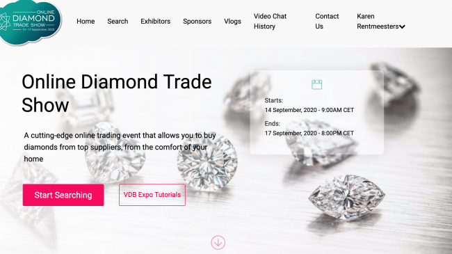 Online Diamond Trade Show Kicks Off